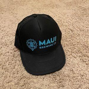 Maui brewing trucker hat